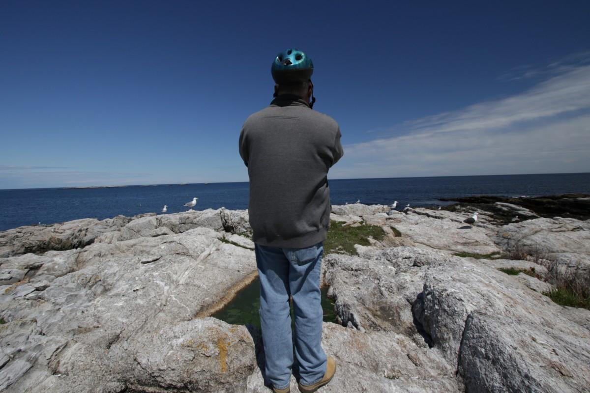 Dave Adrien birding
